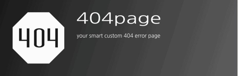 Four zero four plugin front page