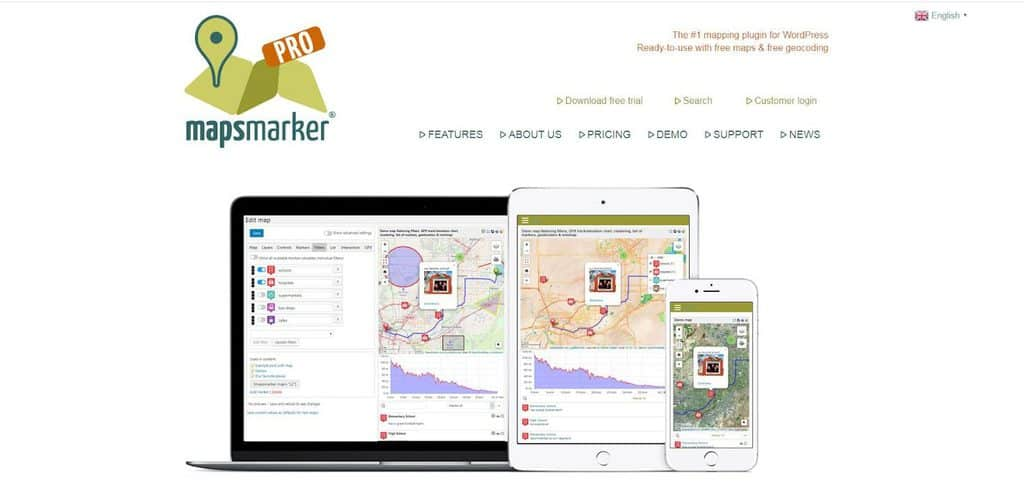 Maps Marker Pro homepage