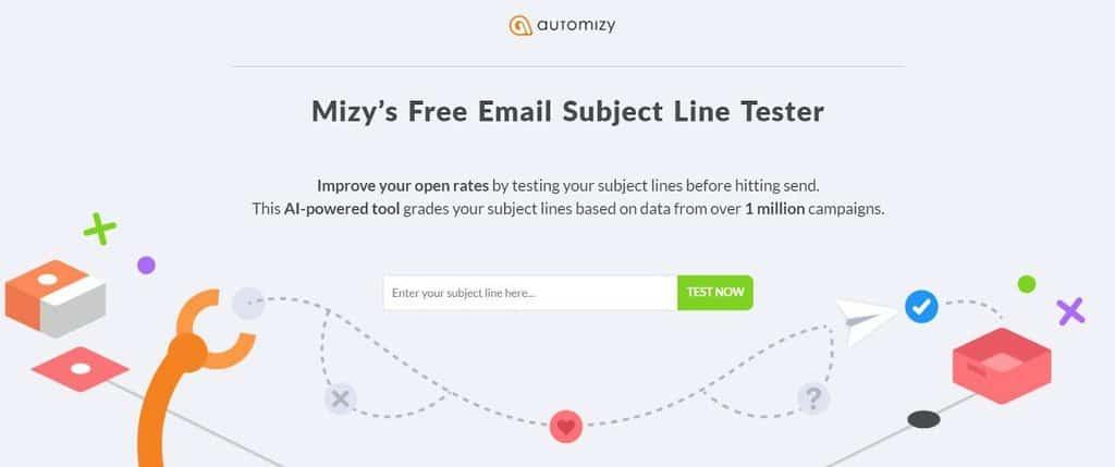 Mizy homepage