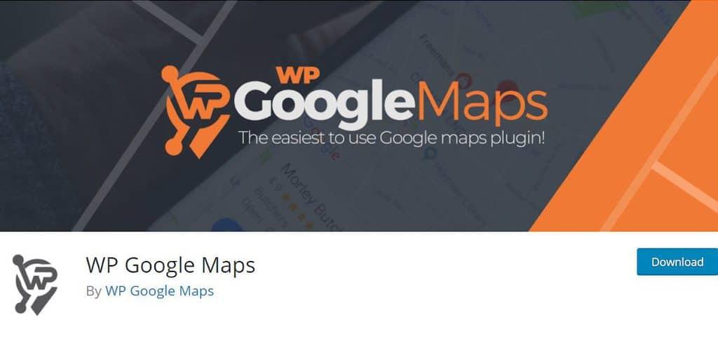 WP Google Maps landing page
