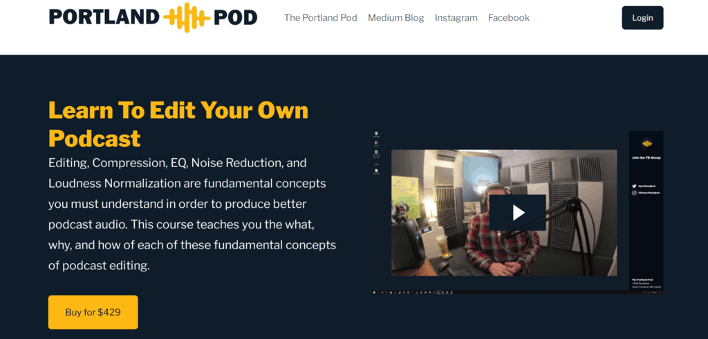 Learn to edit your podcast website