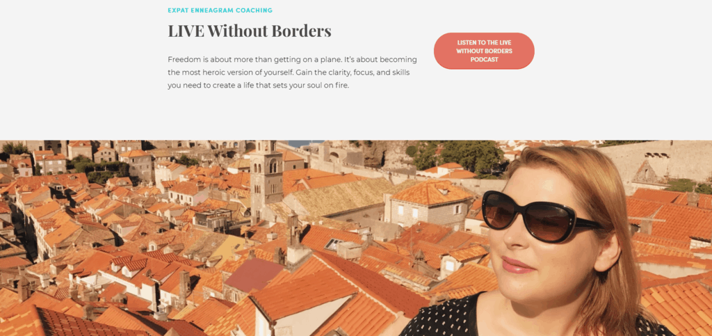 Live Without Borders website