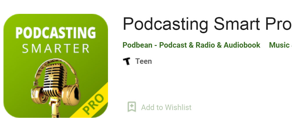 Podcasting Smarter name and icon