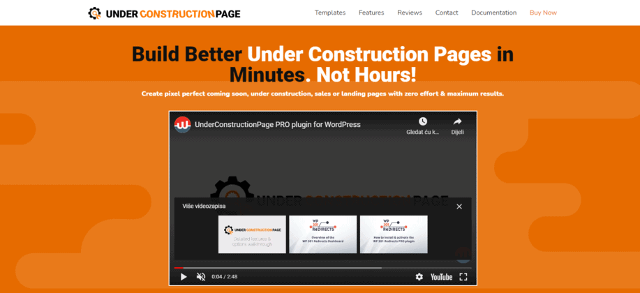 UnderConstructionPage homepage