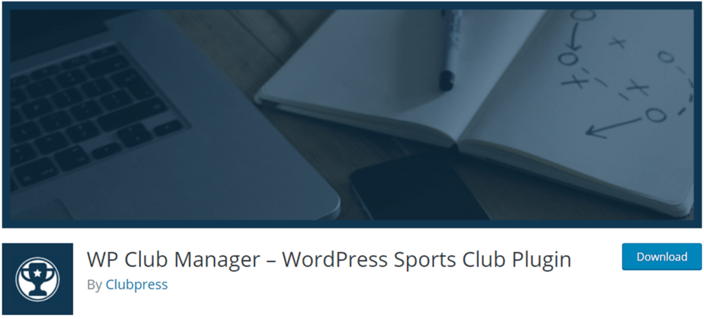 WP Club Manager banner