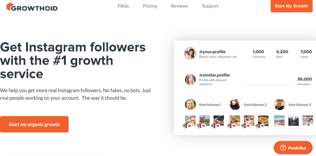 Growthoid homepage