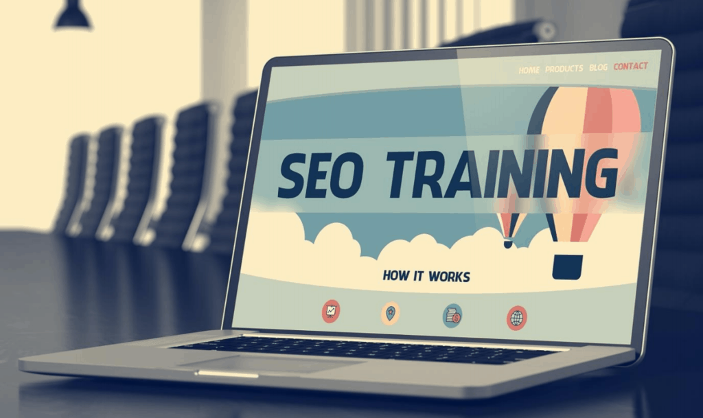 Image of SEO training