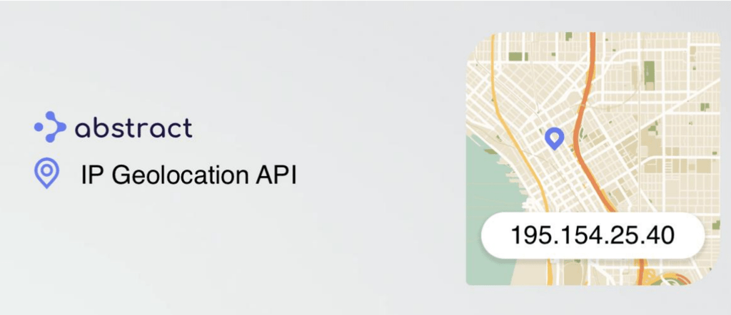 IP Geolocation API website