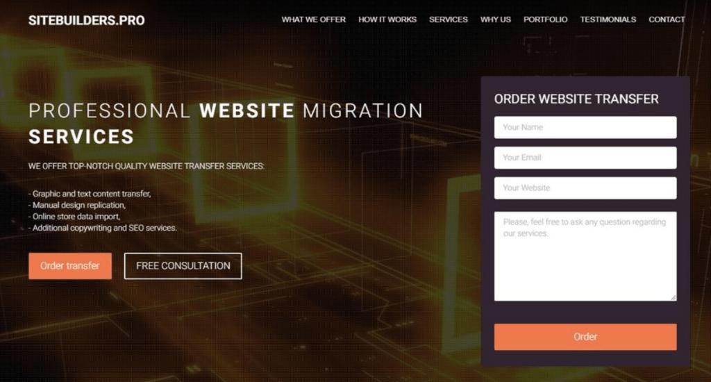 SiteBuilderPRO website