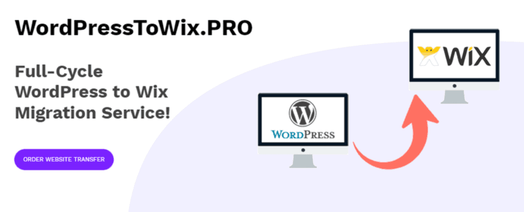 WordPresstoWixPRO website
