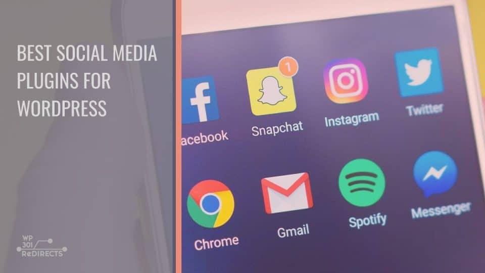 Best social media plugins for WP