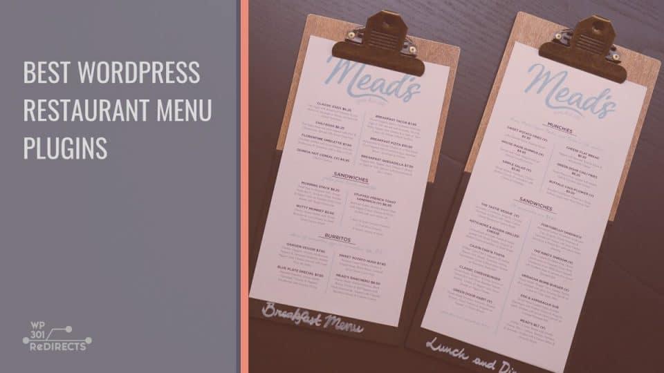 Best WordPress Restaurant Menu Plugins to Present Your Business in the Best Way Possible