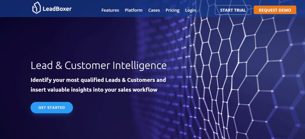 LeadBoxer homepage