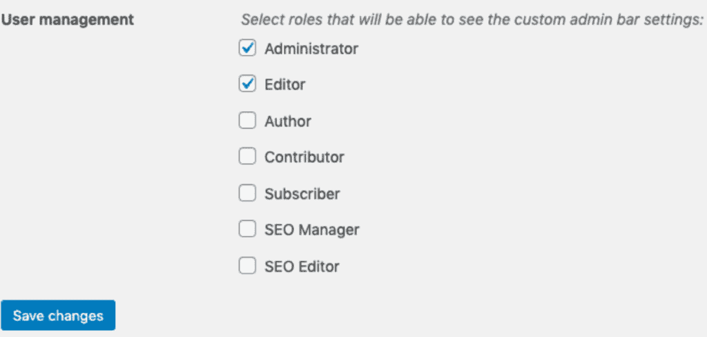 User Management on WordPress
