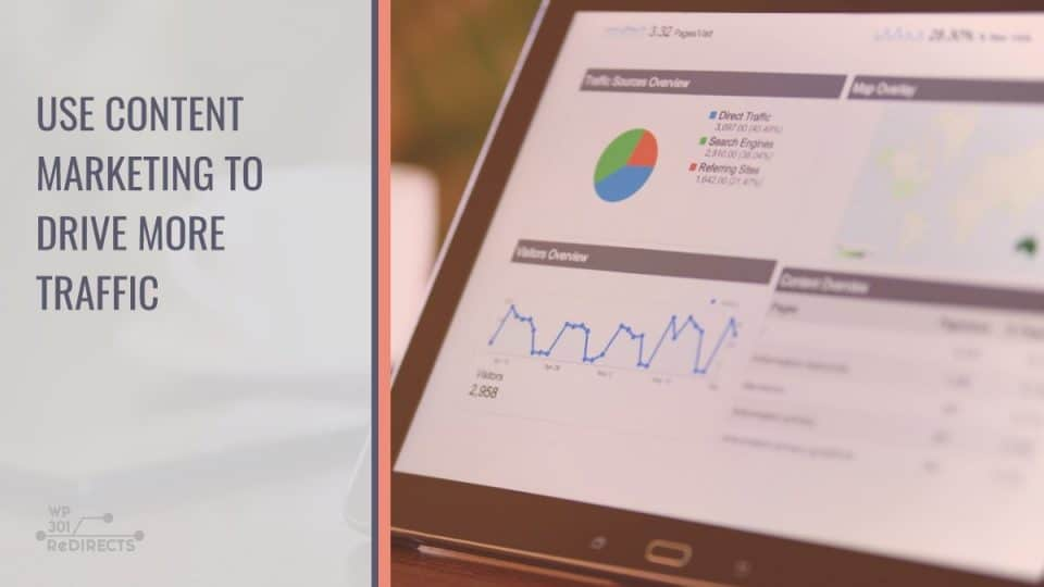 Use Content Marketing to Drive More Website Traffic