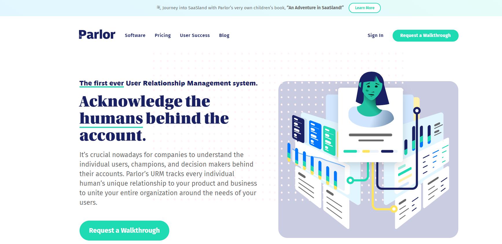 Parlor homepage